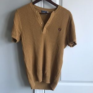 Fred Perry Shirts - Fred Perry sweater short sleeve